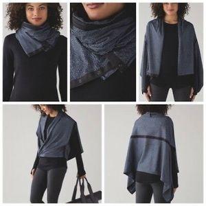 Lululemon vinyasa wrap (scarf), perfect condition